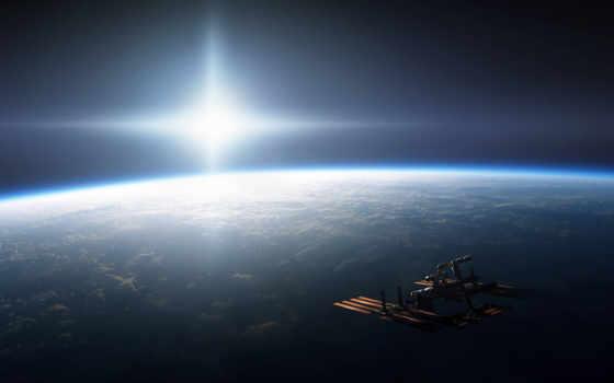 mks, cosmos, свет, sun, planet, land, яркость,