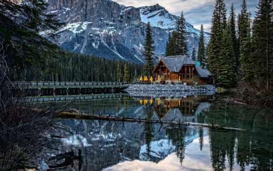 озеро, emerald, columbia, гора, фотографий, landscapes, pinterest, flickr,