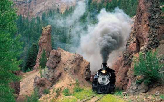 scenic, cumbres, railroad