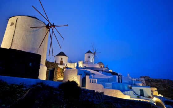greece, города, santorini