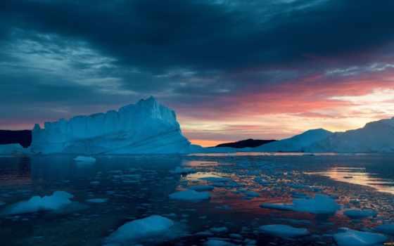 айсберги,
