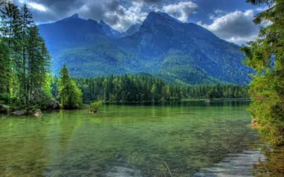 alemanha, montanhas, parede, rios, paisagem, hdr, rio, лагос, papel, бавария,