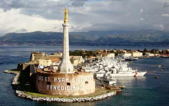 port, гавань, italian, harbor, vessels,
