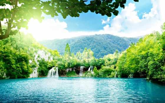 водопад, вода Фон № 32636 разрешение 2560x1600