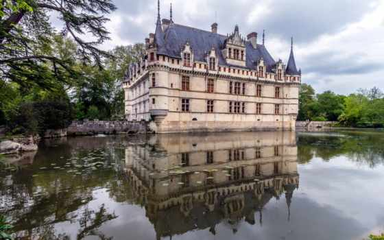 château, castello, ди, vale, loire, del, castelli, rideau, azay, mondo, chambord, bodiam, belli, mais,