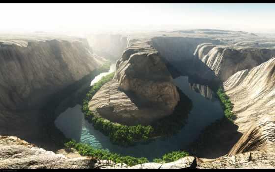 каньон, природа, красивый