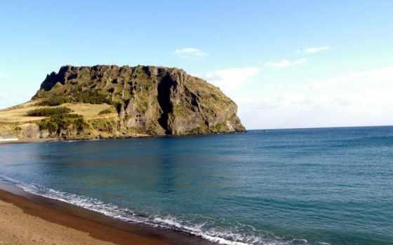 more, пляж, voda, скала, бассейн,