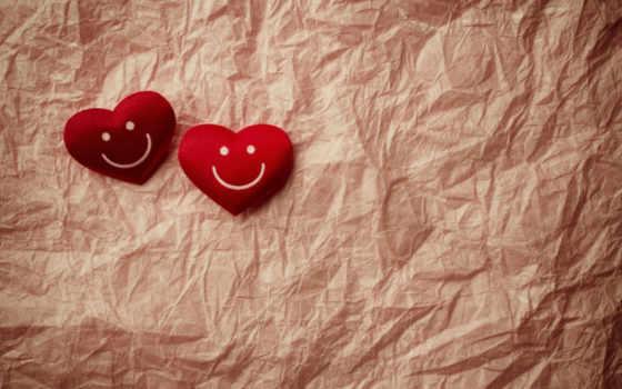 бумага, сердечки, сердце, улыбка, бумаги, красные, мятая, сердечка, настроения, старая, текстура,