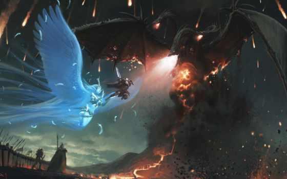 epic, fantasy, дракон, you, score, strength, bit, широкоформатные, верить,