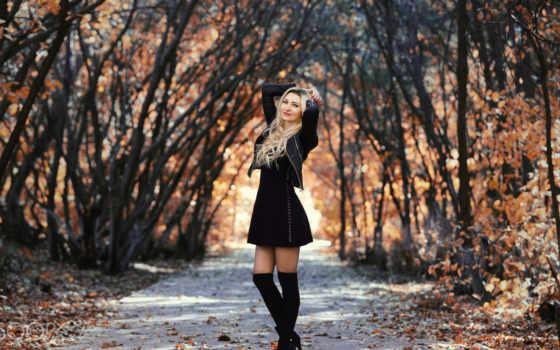 девушка, картинка, осень, murat, фото, поза,