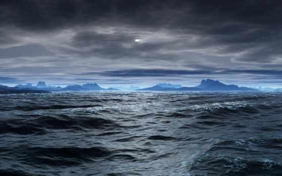 море, синее