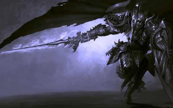 немного, воин, доспех, bilar, арт, меч, фантазии, swords,