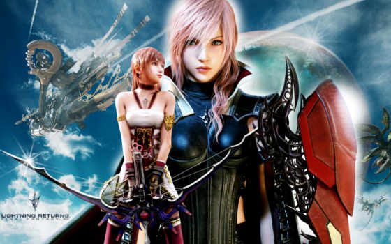 fantasy, final, lightning, returns, xiii, игры, games,