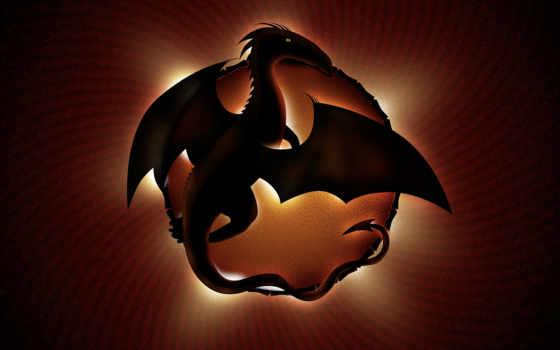 дракон, fondos, gratis