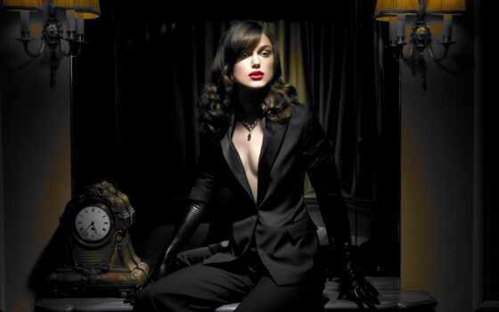 волосы, модель, девушка, gloves, black, resolution,