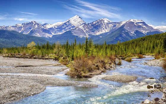 glasgow, природа, mount, kananaskis, rivers, канада, mountains, scenery, desktop,