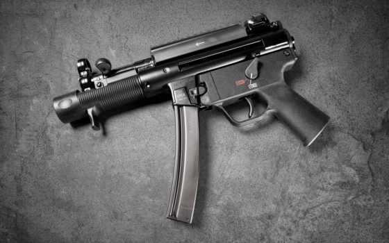 armas, fuego, modernas, koch, heckler, fogo,
