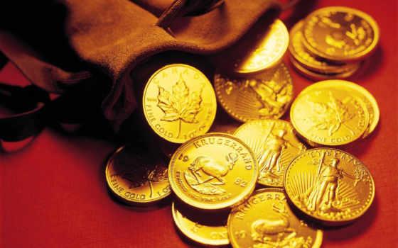 монеты, золотые, monet,