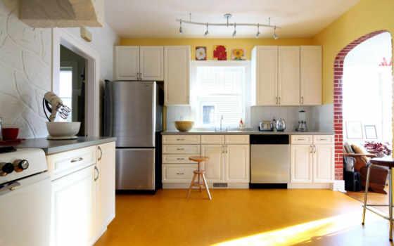 dizain, interer, кухня