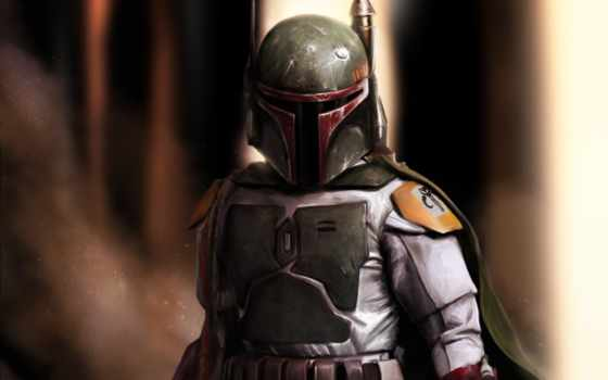 наемник, fantasy, шлем, воители, fett, боба, art, войны, star, hunter, wars,
