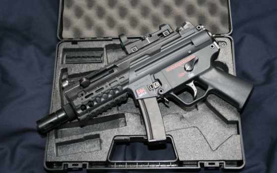 hc, пистолет, duvar, silah, airsoft, mp5k