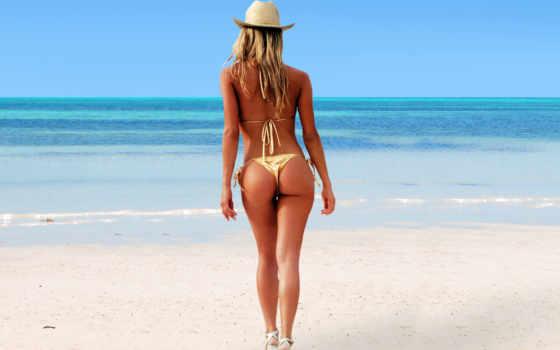 devushki, стройная, солнце, пляж, полуобнаженные, more, figura, девушек, прекрасными, фигурами, leto,