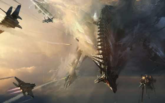 epic, arts, будущее, uprising, scifi, машин, war, реальности, тревожат, шторма,