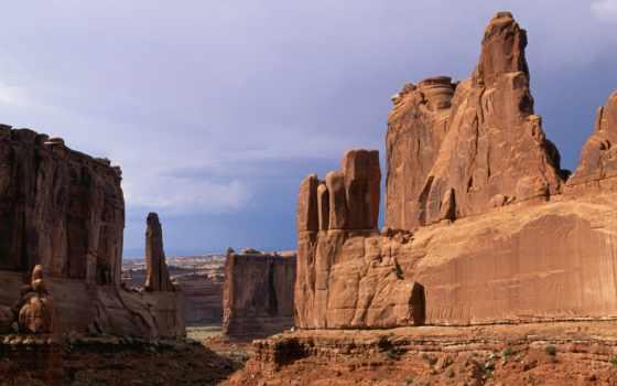 slide, park, national, arches,