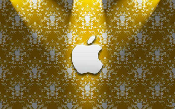 apple золотые узоры