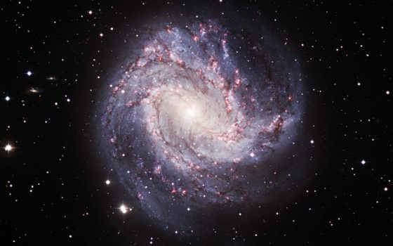 спиральная, galaxy, ngc