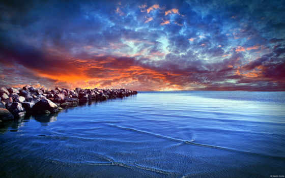 море, балтийское, заставки