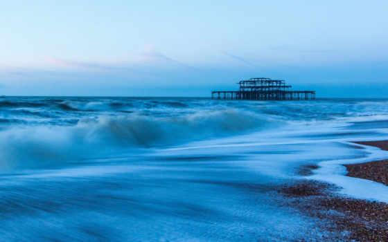 море, water, landscape, природа, волна, река, ocean, widescreen, landscapes,