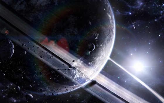 сатурн, астероиды