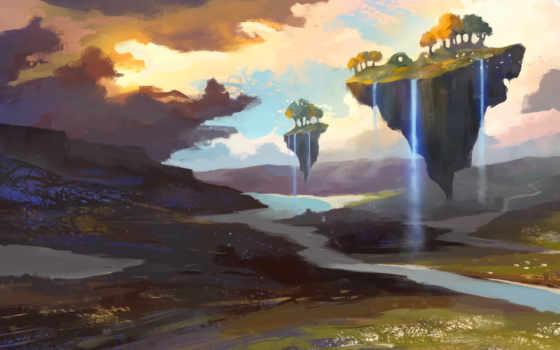 islands, fantasy, pinterest