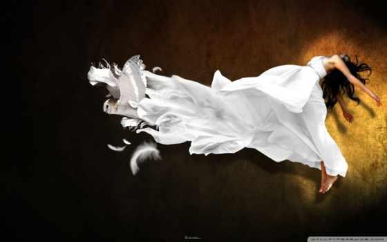 девушка, сова, красивые, платье, невидимка,