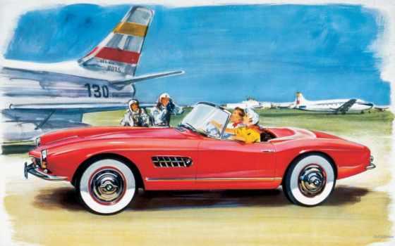 bmw, история, машина, roadster, classic, реклама,