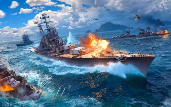 world, warships, кораблей, игры, корабли,