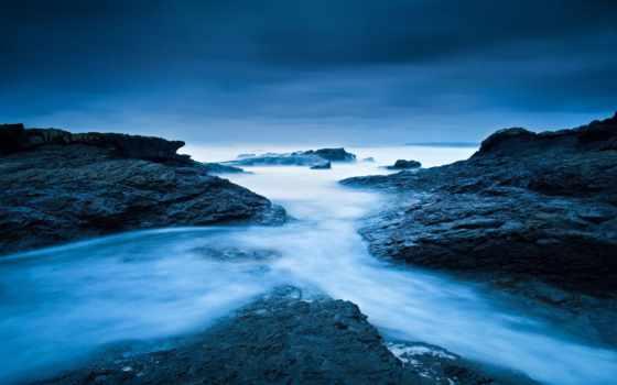 море, ирландский, природа, побережье, картинка, point, spanish, камни, телефон,
