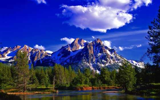 природа, красивые, горы, фотографий, природы,