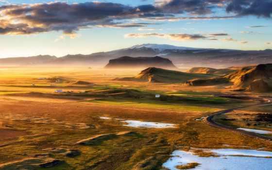 iceland, dyrholaey, landscapes, chenbear, февр, waterfalls, more, hour,