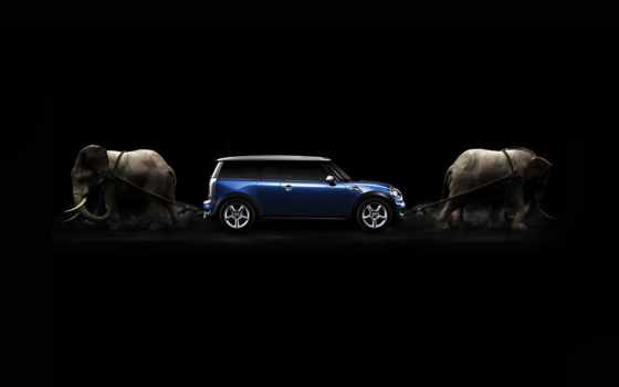 mini, cooper, wallpaper, мини, обои, elephants, ку