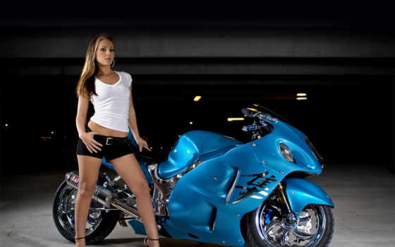 мотоциклы, devushki, девушка