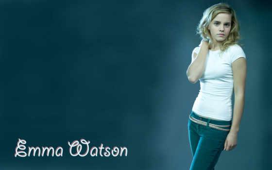 emma, watson, white