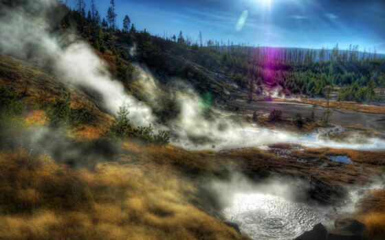 park, national, йеллоустоун, yellowstone, usa