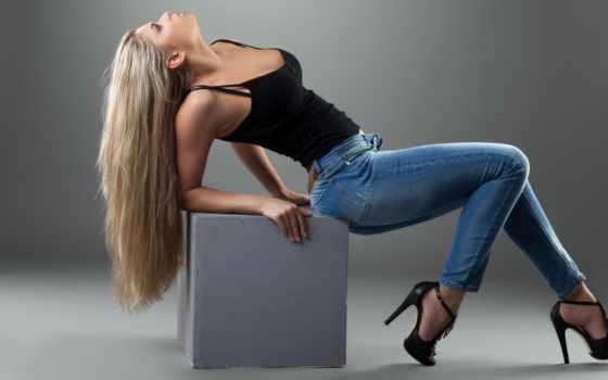 джинсы, красивые, devushki
