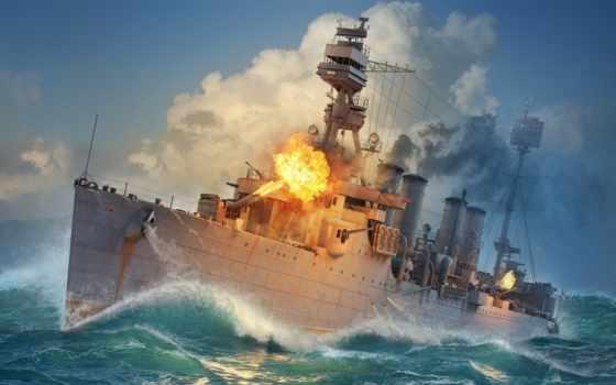 world, wargame, warship, корабль, game, wow, cruiser