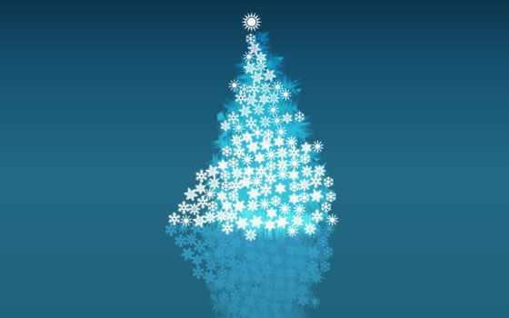 navidad, árbol, estrellas