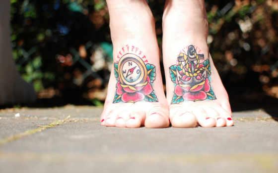 тату, татуировка, compass, якорь, ideas,