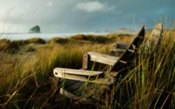 моря, спокойствие, reki, банка, озера, безмолвие, скамейка, широкоформатные, природа,