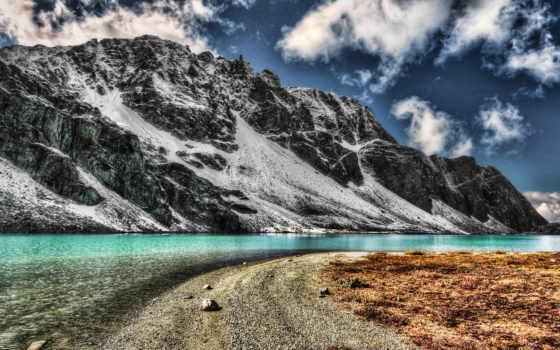 desktop, lakes, iceland, high, фон, природа, full,
